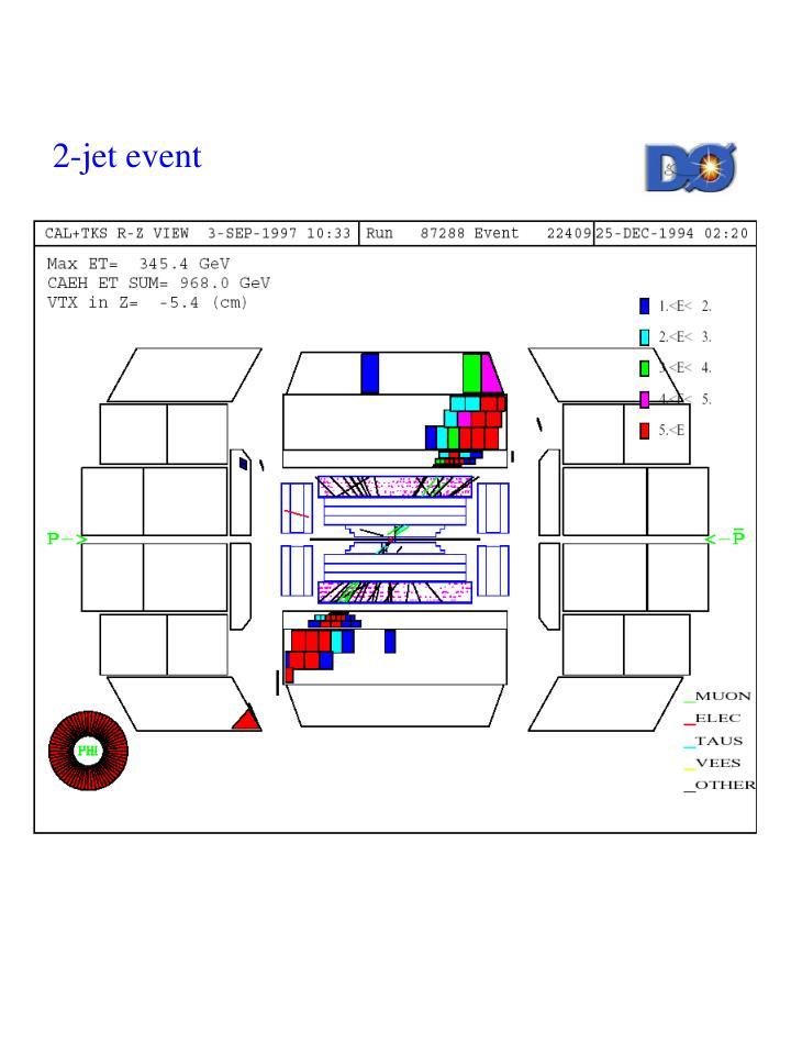 2-jet event