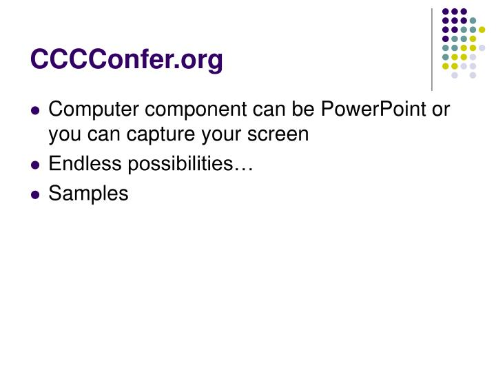 CCCConfer.org