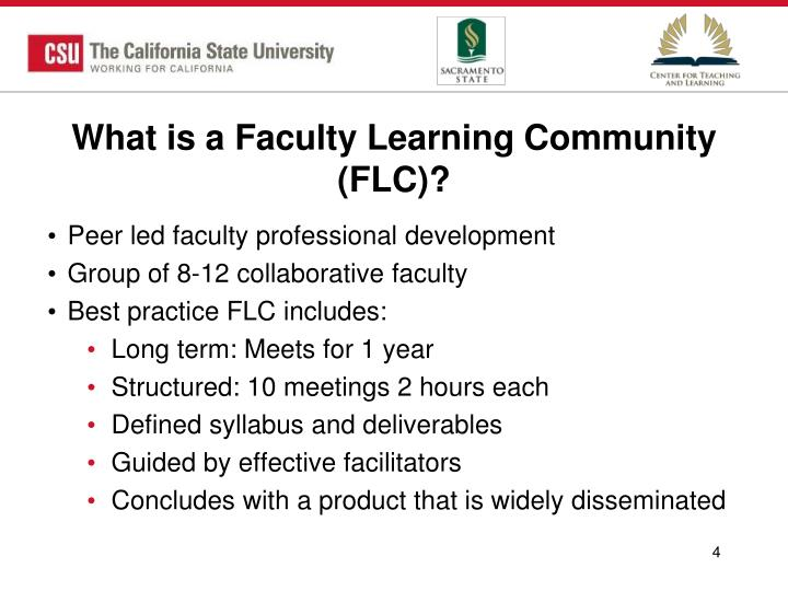 What is a Faculty Learning Community (FLC)?
