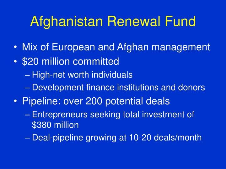 Afghanistan Renewal Fund