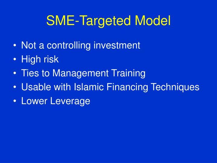 SME-Targeted Model