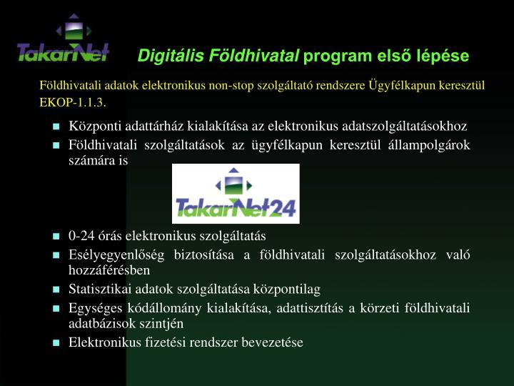 Digitális Földhivatal