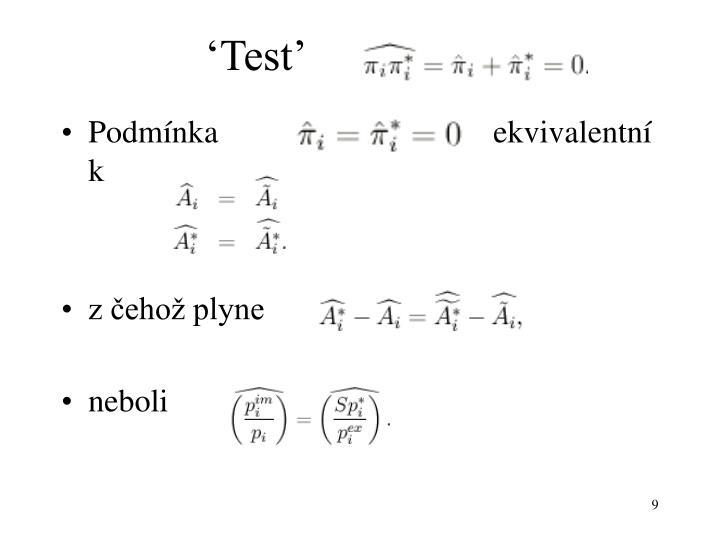 'Test'