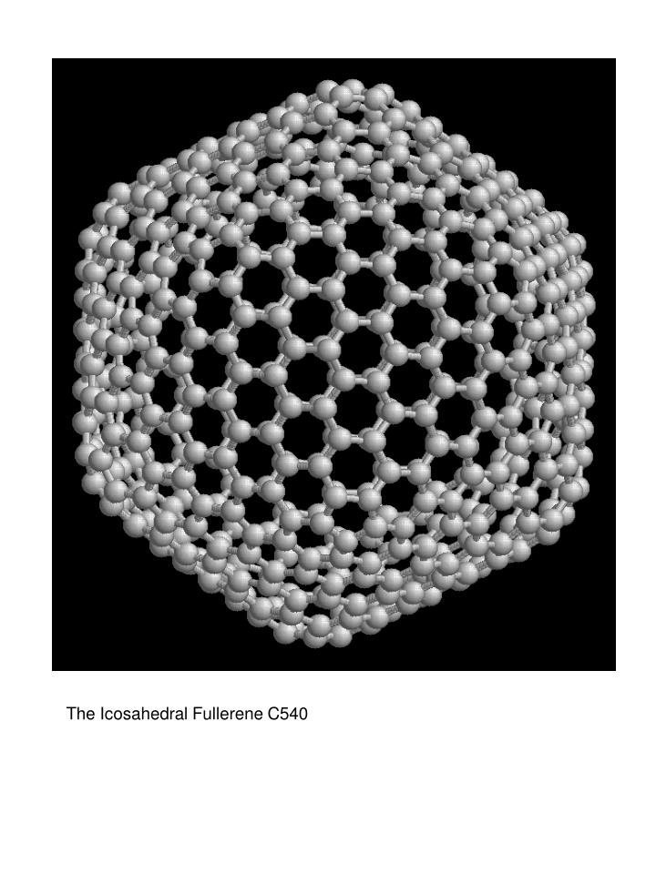 The Icosahedral Fullerene C540