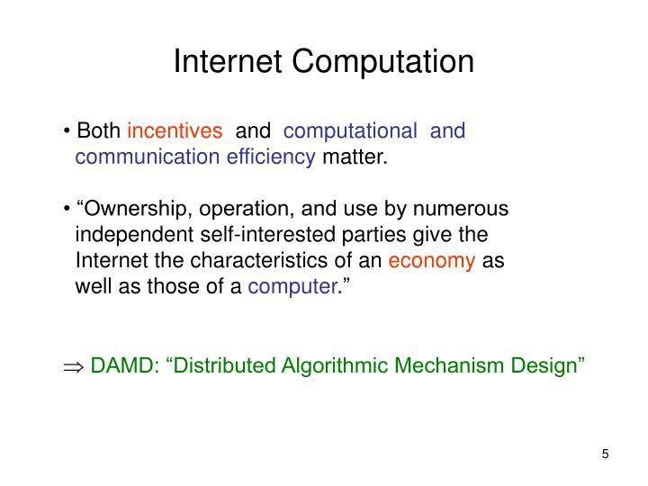 Internet Computation