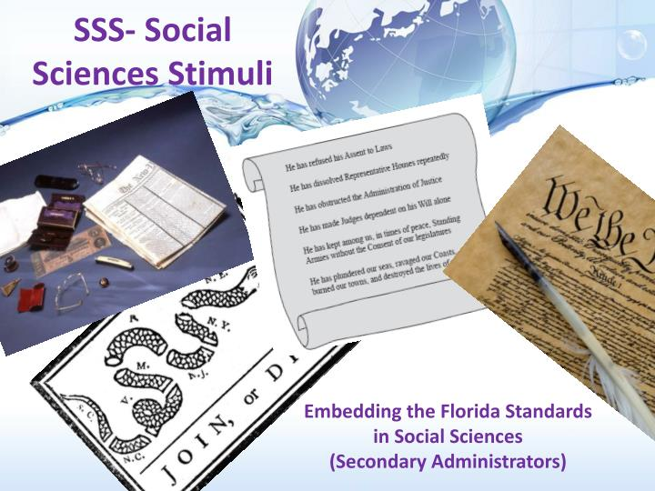 Sss social sciences stimuli