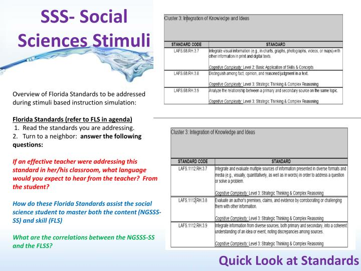 SSS- Social Sciences Stimuli