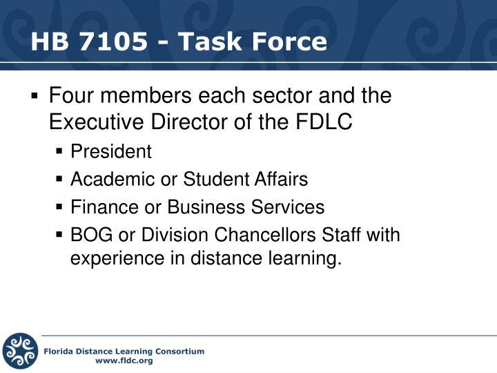 HB 7105 - Task Force