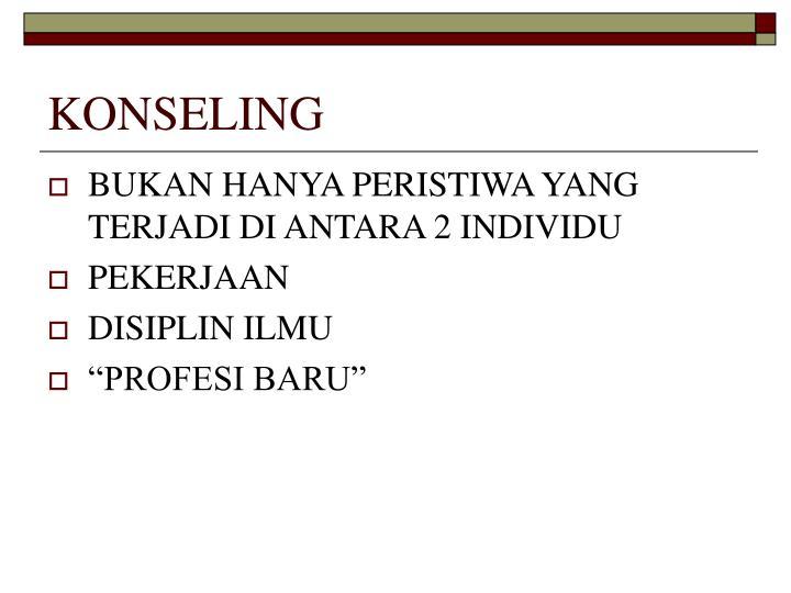 KONSELING