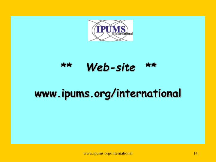 **   Web-site  **