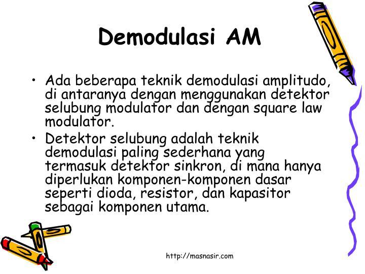 Demodulasi AM