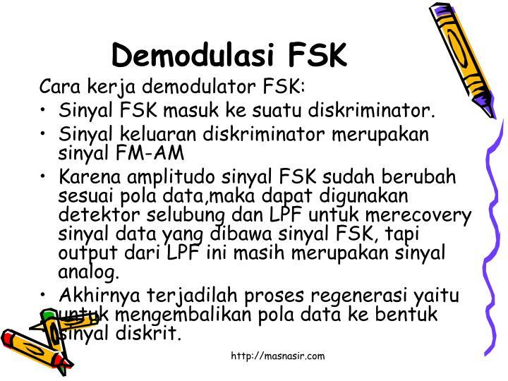 Demodulasi FSK