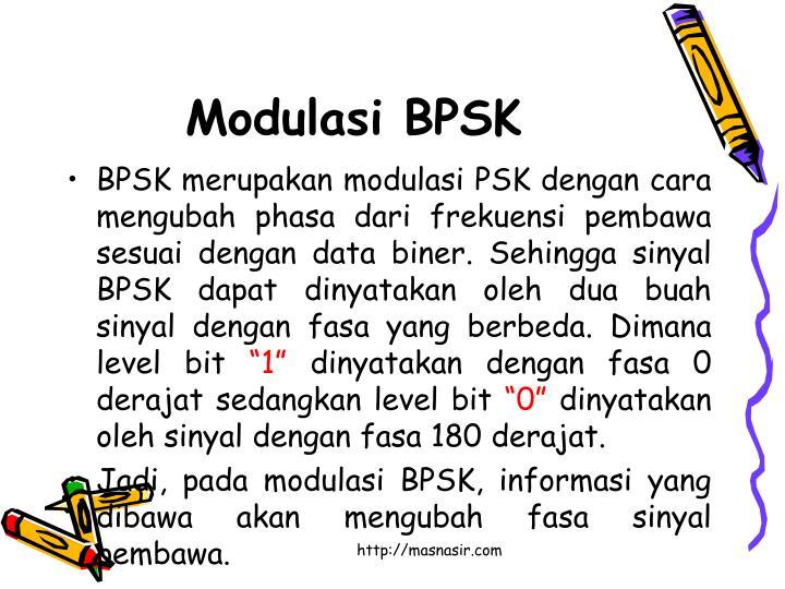 Modulasi BPSK