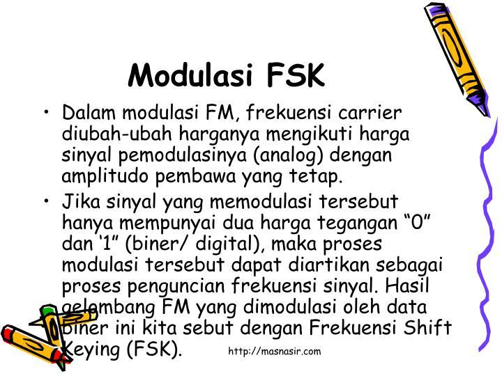 Modulasi FSK