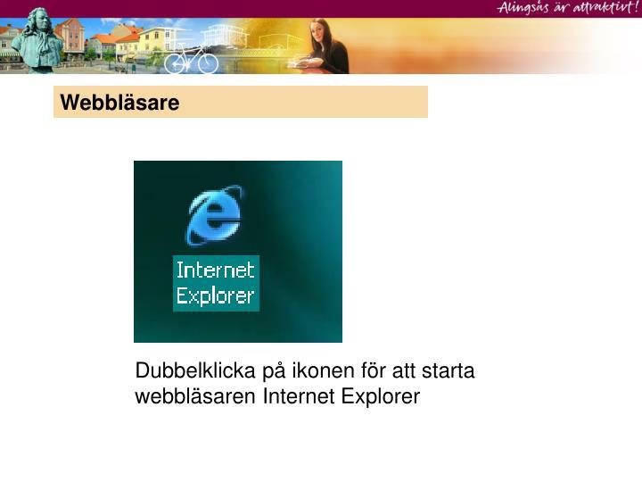 Webbläsare