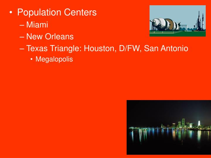 Population Centers