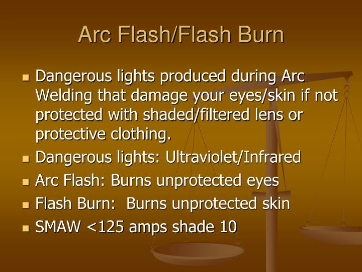 how to help flash burn