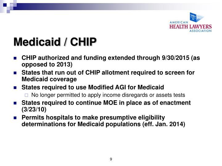 Medicaid / CHIP