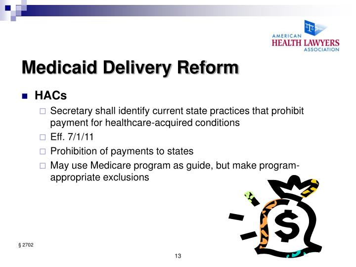 Medicaid Delivery Reform