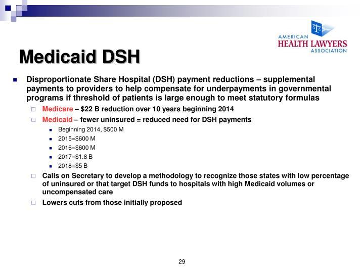 Medicaid DSH