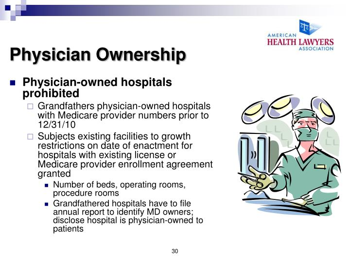 Physician Ownership