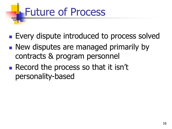 Future of Process