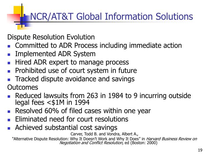 NCR/AT&T Global Information Solutions