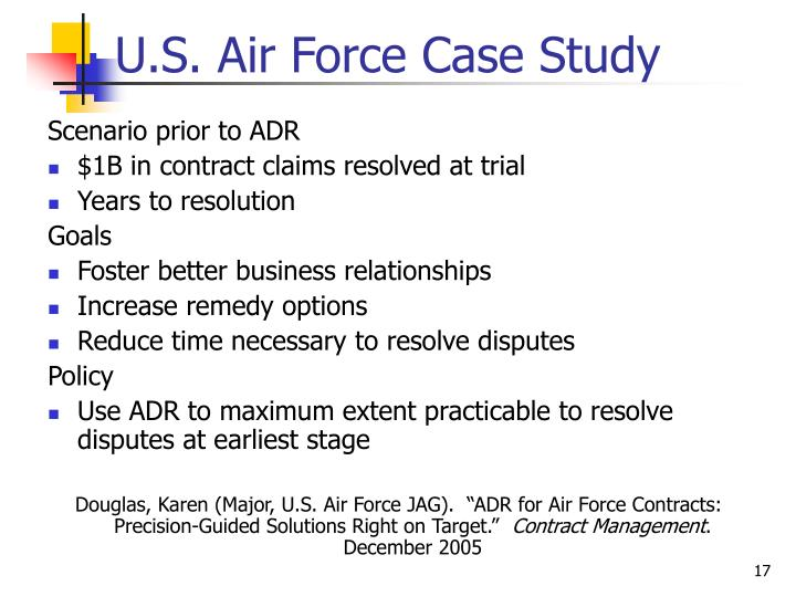 U.S. Air Force Case Study