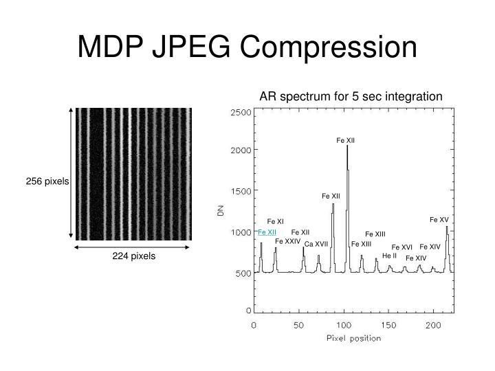 MDP JPEG Compression