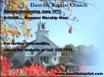 danville baptist church