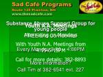 sad caf programs route 125 plaistow nh www thesadcafe com