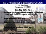 st christopher s episcopal church 187 east road hampstead nh 03841
