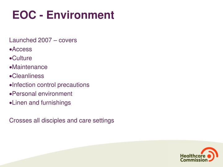 EOC - Environment