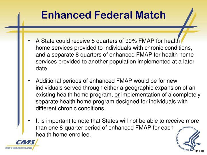 Enhanced Federal Match