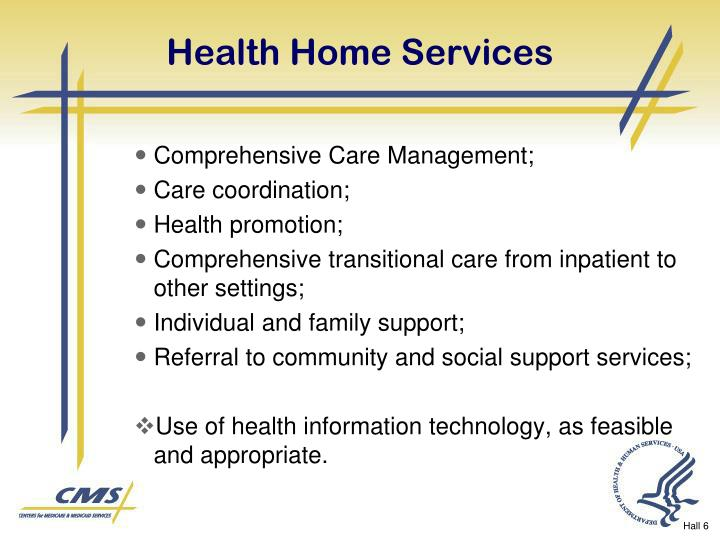 Health Home Services