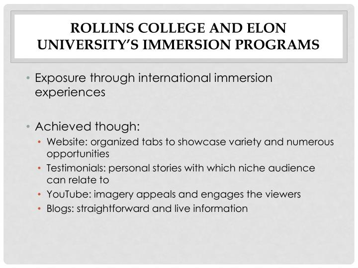 Rollins College and