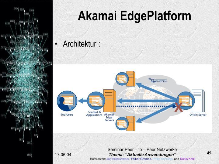 Akamai EdgePlatform