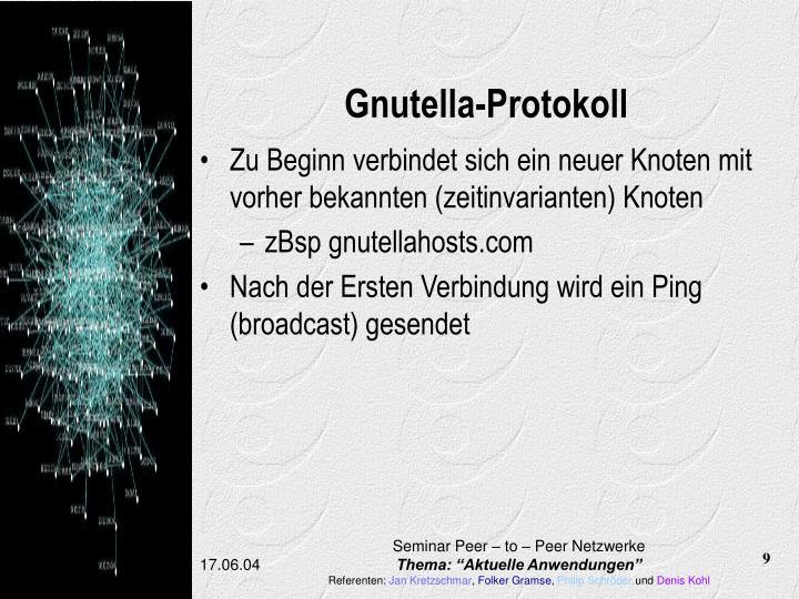 Gnutella-Protokoll