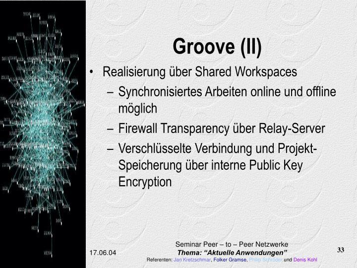 Groove (II)