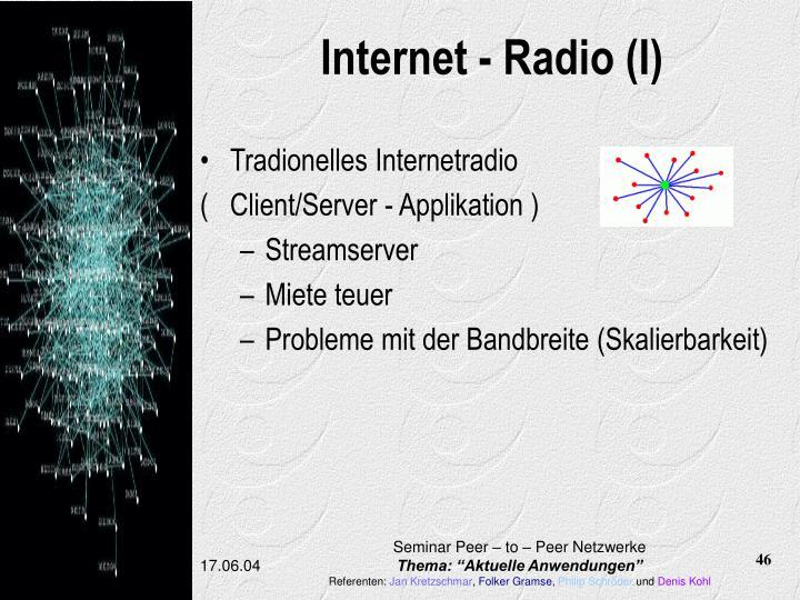 Internet - Radio (I)