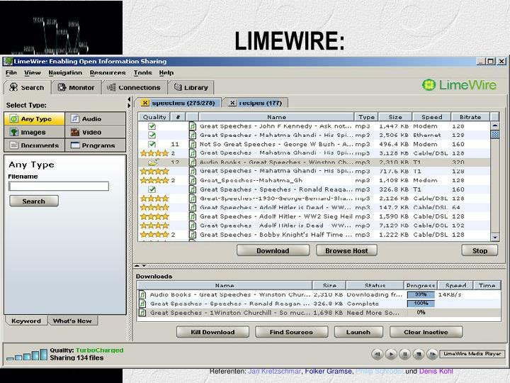 LIMEWIRE: