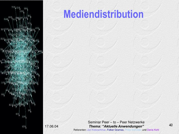 Mediendistribution