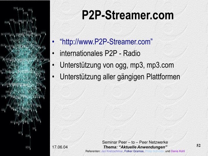 P2P-Streamer.com