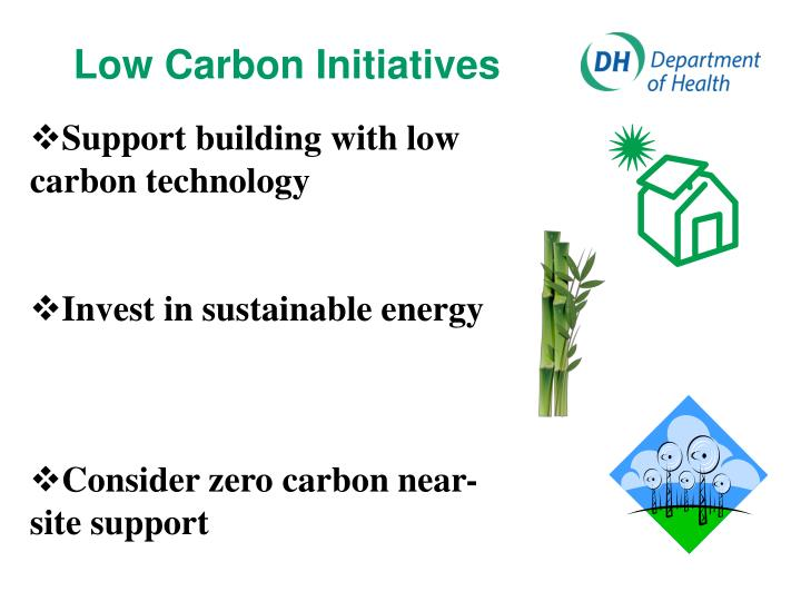 Low Carbon Initiatives