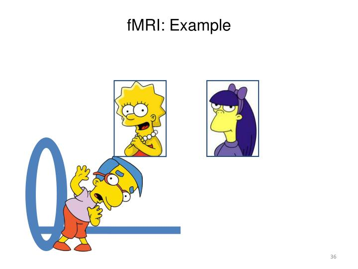 fMRI: Example