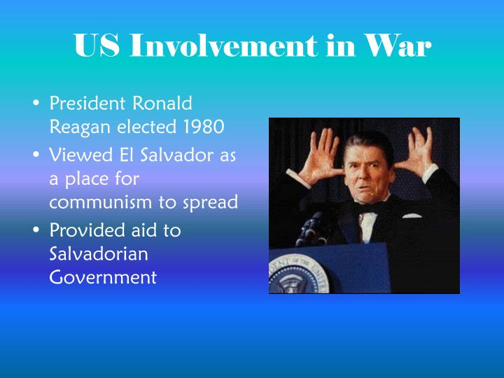 US Involvement in War