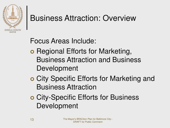 Business Attraction: Overview