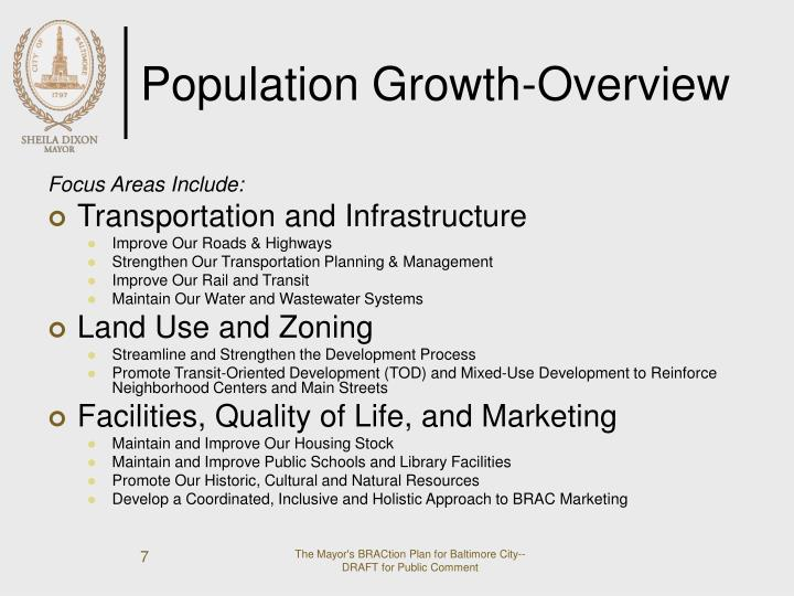 Population Growth-Overview