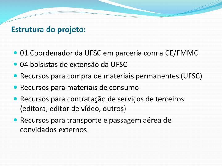 Estrutura do projeto:
