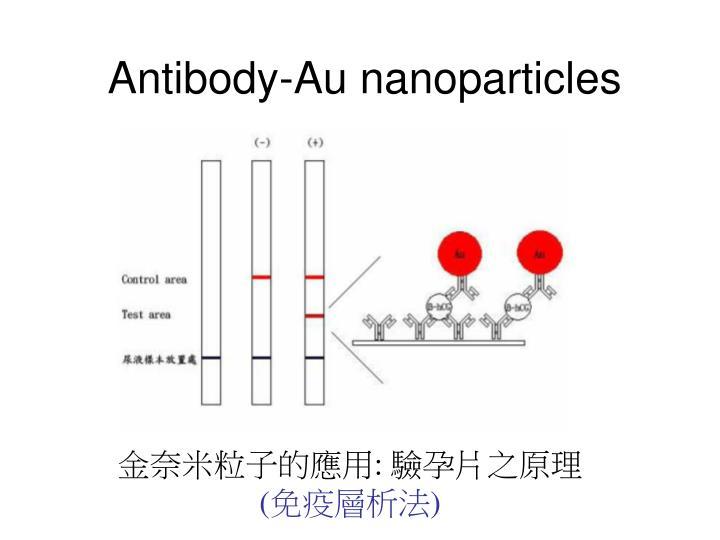 Antibody-Au nanoparticles
